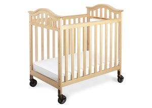 Simmons Kids Natural (260) Peyton Crib, Front View b1b