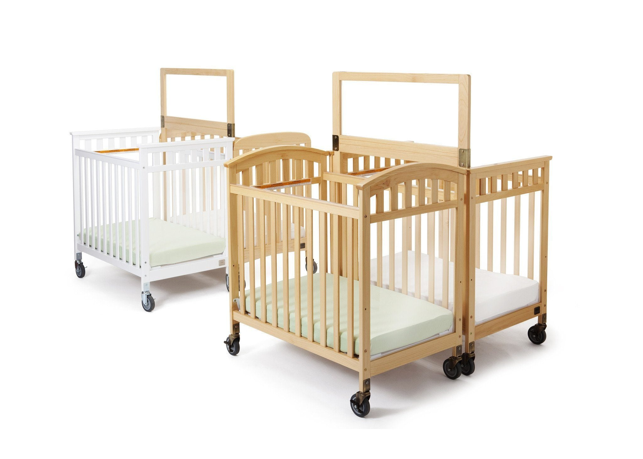Simmons Kids Natural (260) Sweet Dreamer Safe Barrier Side View a1a