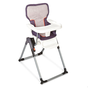 Simmons Kids Elite Comfort High Chair Right Side View Urban Edge Charcoal (029) a1a