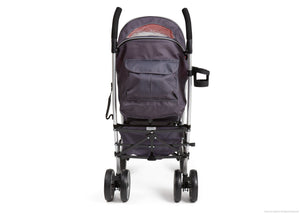 Simmons Kids Elite Comfort Stroller, Charcoal (029) Back View a5a