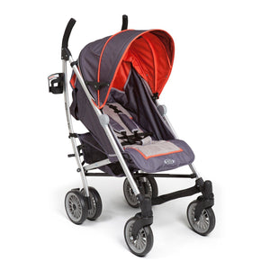Simmons Kids Elite Comfort Stroller Charcoal (029) Right Side View a1a
