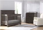 Simmons Rustic Grey (084) Paloma 4-in-1 Convertible Crib (328150), a1a