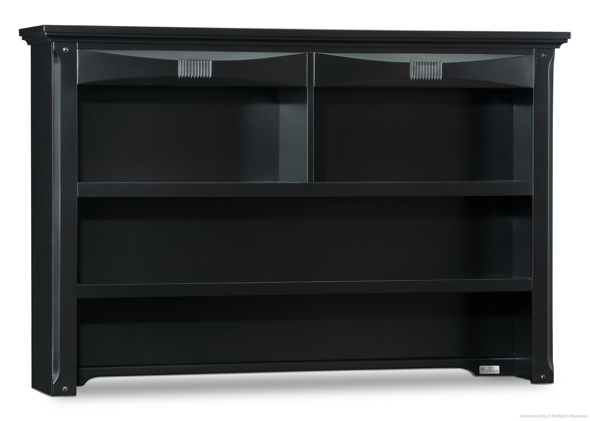 Simmons Kids Black (001) Impressions Hutch, Side View a2a