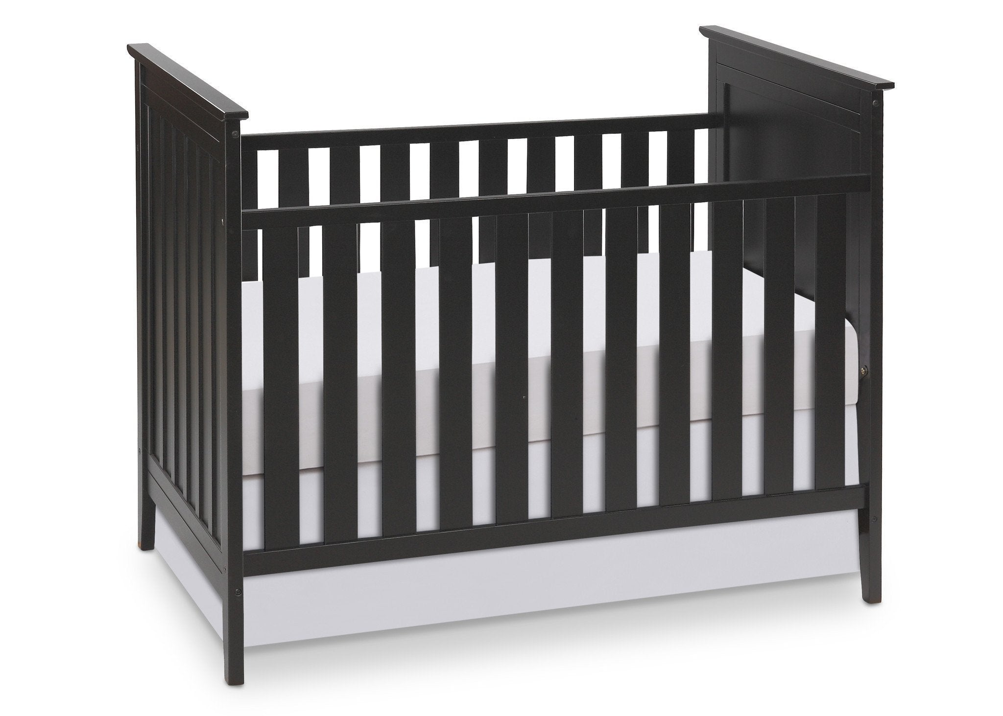 Simmons Kids Black (001) Melody 3-in-1 Crib, Crib Conversion a1a