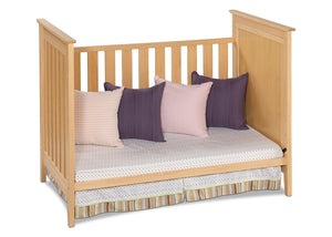 Simmons Kids Natural (260) Melody 3-in-1 Crib, Day Bed Conversion c3c
