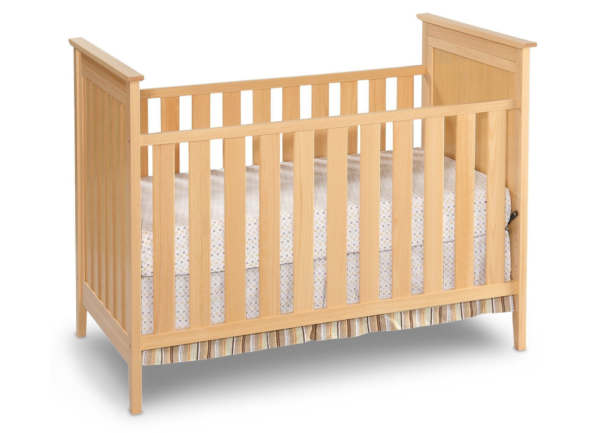 Simmons Kids Natural (260) Melody 3-in-1 Crib, Crib Conversion c1c