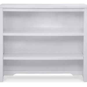 Simmons Kids White Ambiance (108) Madisson Bookcase & Hutch with Base a1a