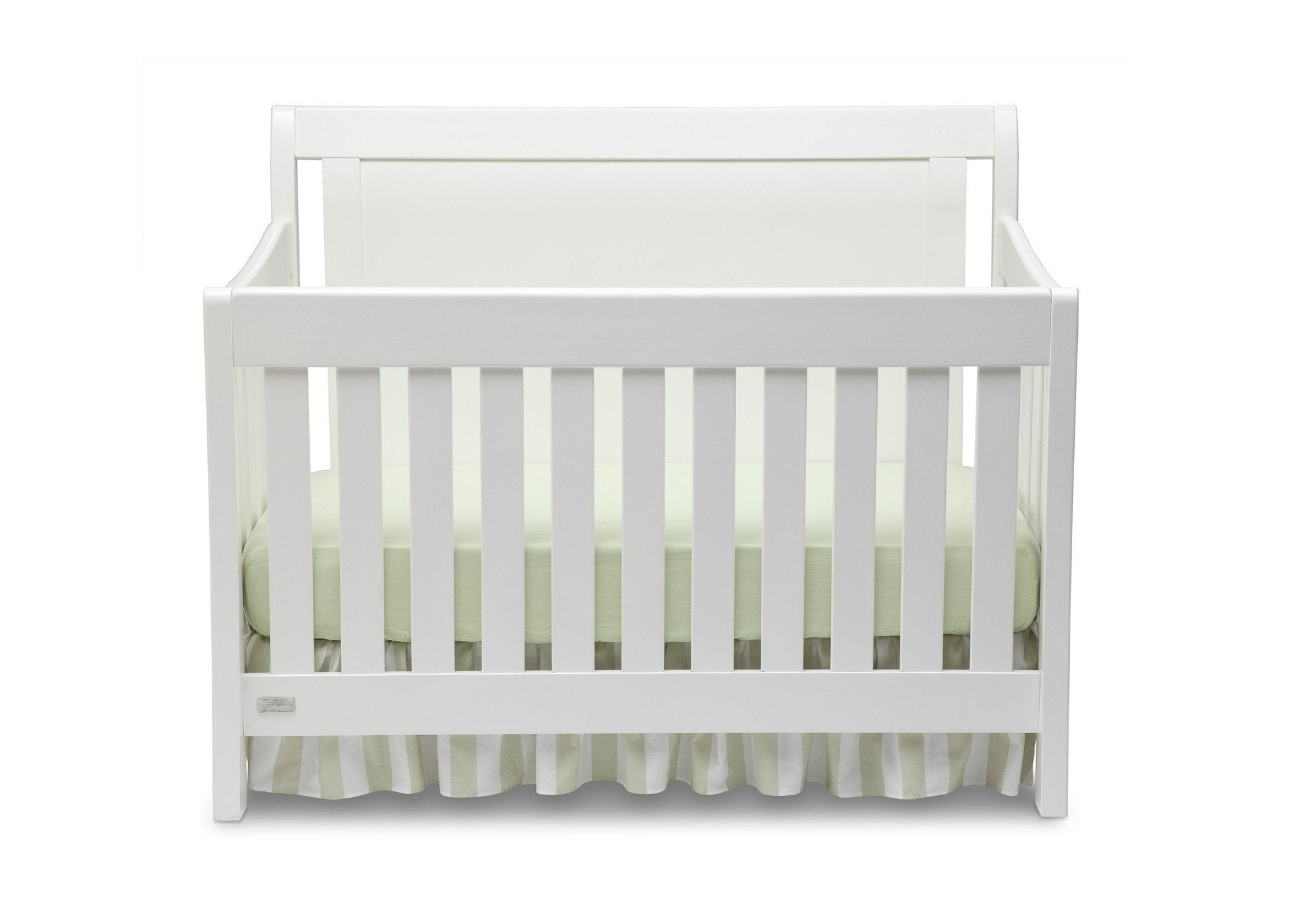 Simmons Kids White Ambiance (108) Madisson Crib 'N' More, Crib Conversion a1a