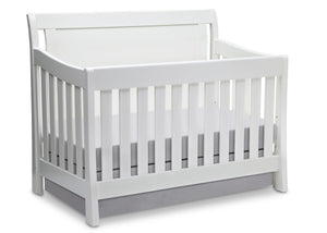 Simmons Kids White Ambiance (108) Madisson Crib 'N' More, Crib Conversion a2a