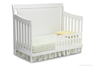 Simmons Kids White Ambiance (108) Madisson Crib 'N' More, Toddler Bed Conversion a3a