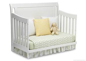 Simmons Kids White Ambiance (108) Madisson Crib 'N' More, Day Bed Conversion a4a