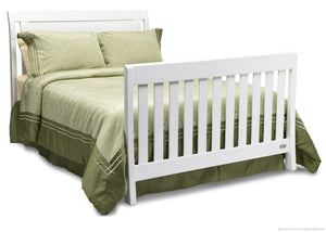 Simmons Kids White Ambiance (108) Madisson Crib 'N' More, Full-Size Bed Conversion a5a