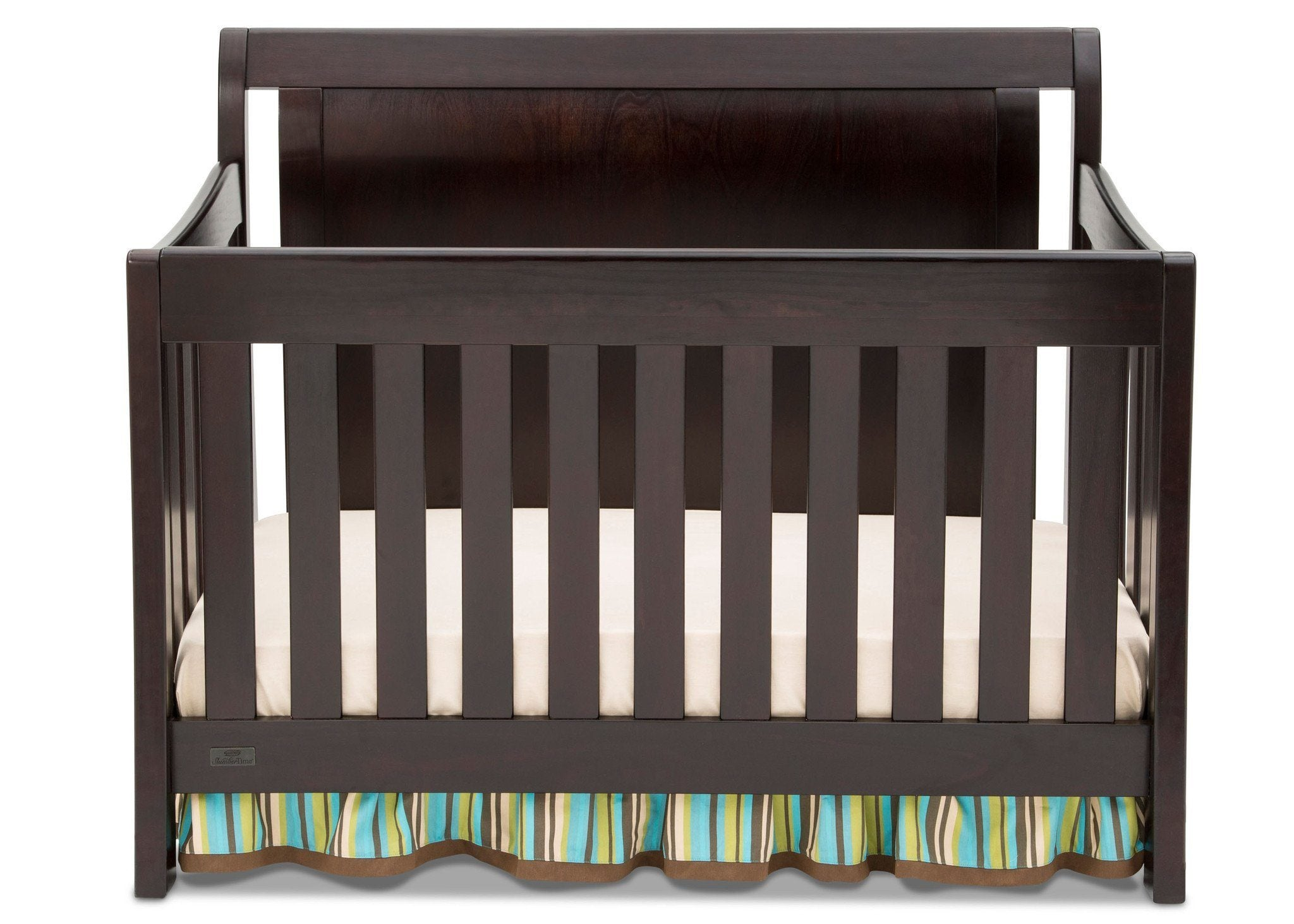 Simmons Kids Black Espresso (907) Madisson Crib 'N' More, Crib Conversion b1b