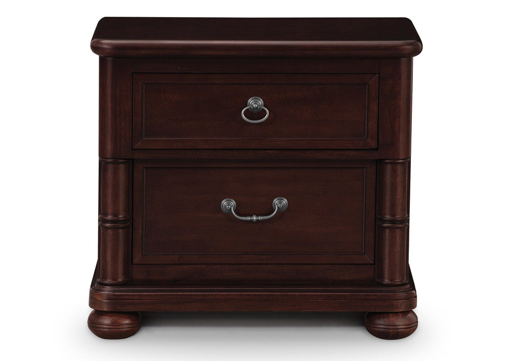 Simmons Kids Molasses (226) Highpoint Nightstand, Front View a1a
