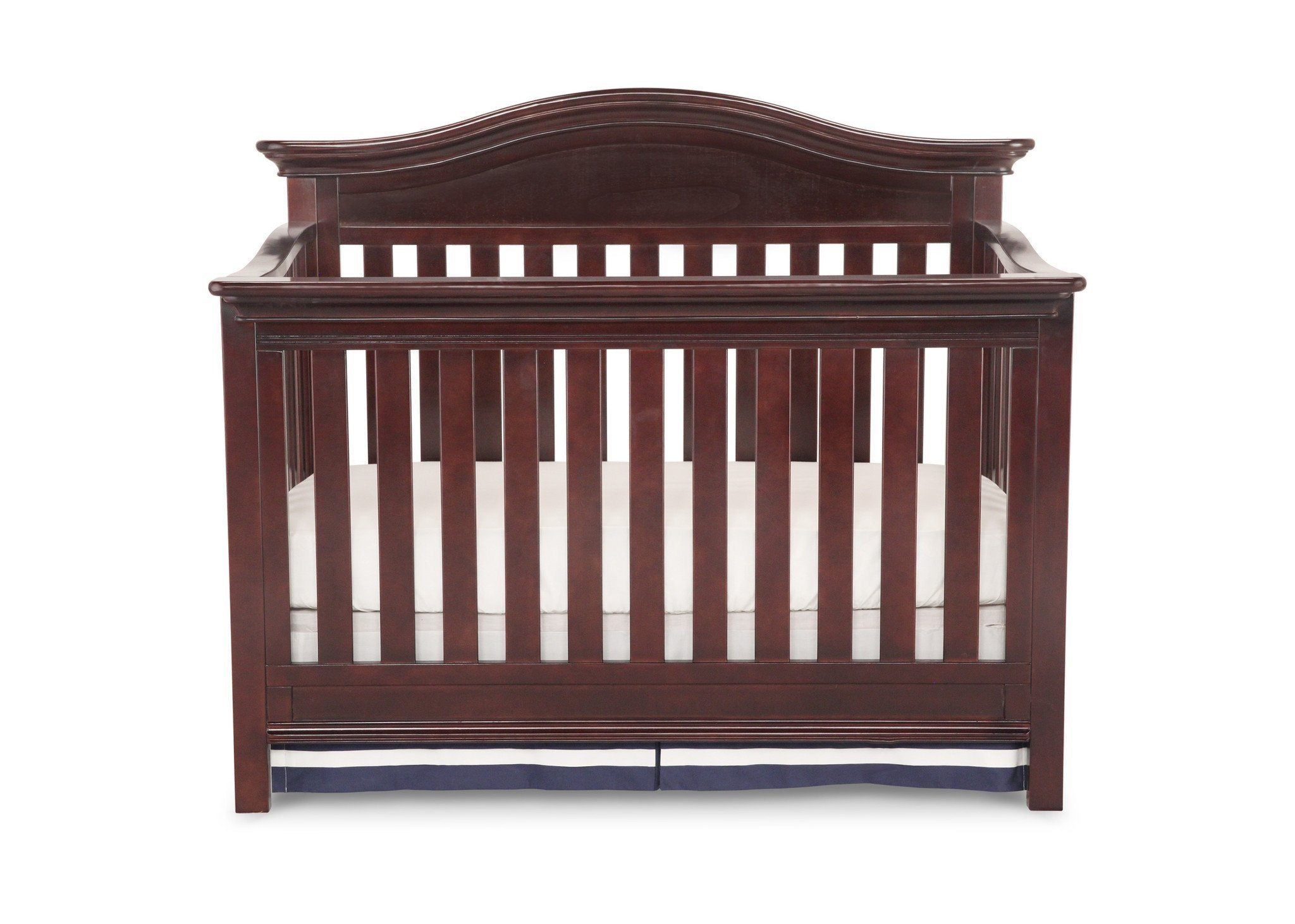 Simmons Kids Molasses (226) Augusta Crib 'N' More (309180), Crib Conversion Front View a1a