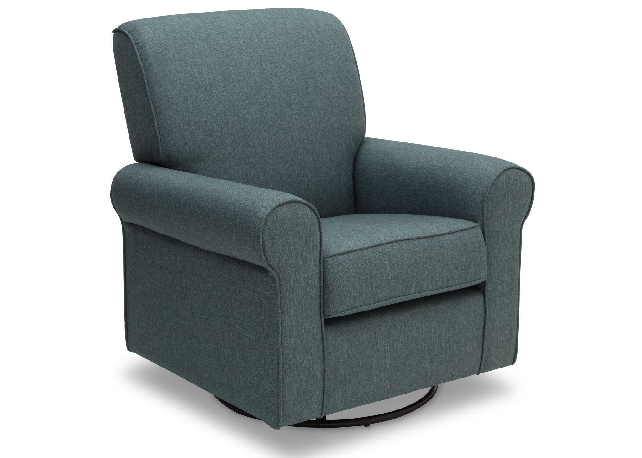 Simmons Kids Lagoon (428) Avery Upholstered Glider, Right Side View d2d