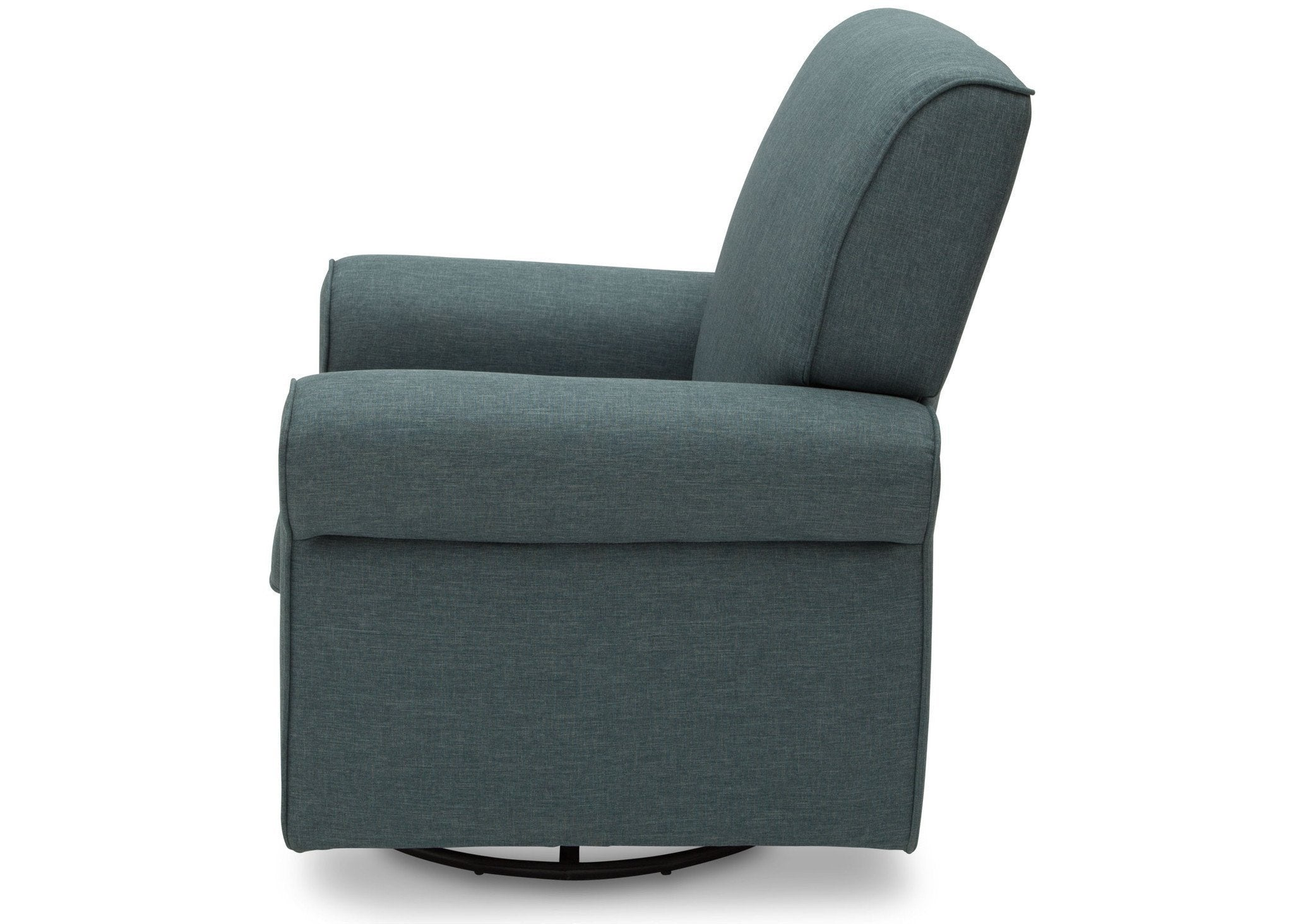Simmons Kids Lagoon (428) Avery Upholstered Glider, Full Left Side View d4d
