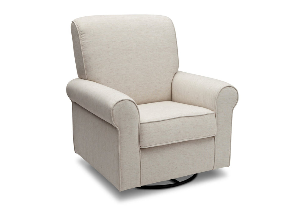 Simmons Kids Sand (921) Avery Upholstered Glider, Right Side View e3e