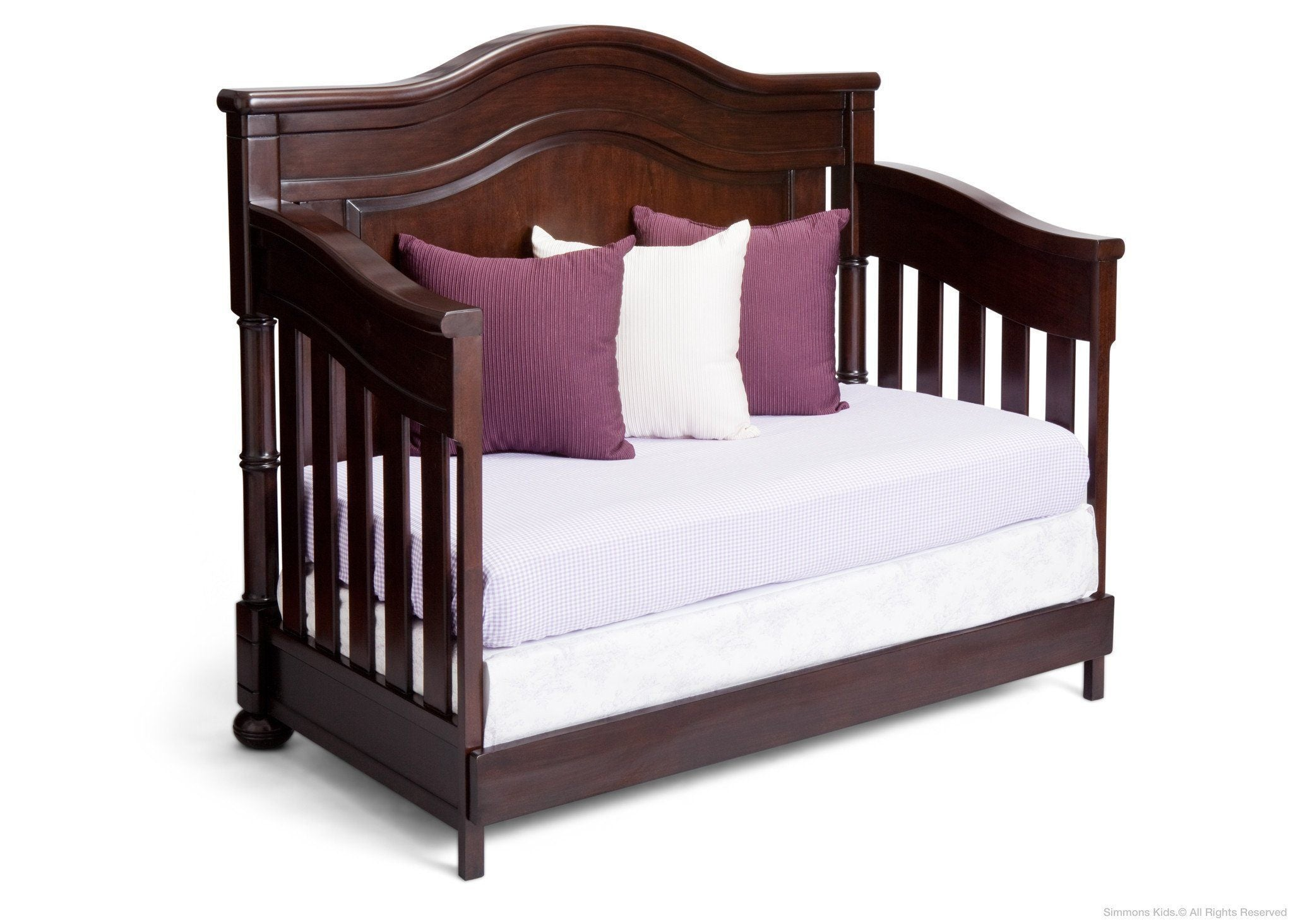Simmons Kids Molasses (226) Highpoint Crib 'N' More (305180), Day Bed Conversion a3a