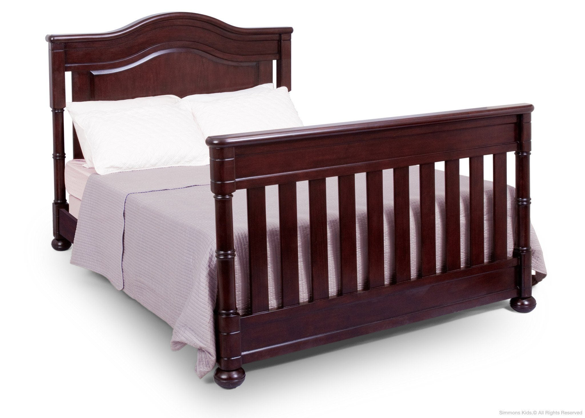 Simmons Kids Molasses (226) Highpoint Crib 'N' More (305180), Full-Size Bed Conversion a4a