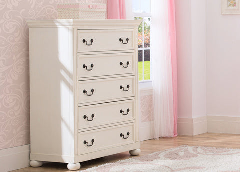 Castille 5 Drawer Chest