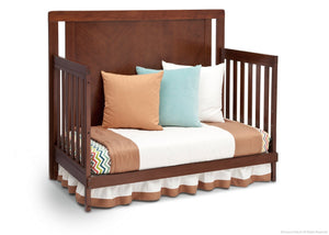 Simmons Kids Espresso Truffle (208) Chevron Crib 'N' More, Day Bed Conversion b4b