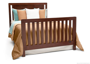 Simmons Kids Espresso Truffle (208) Chevron Crib 'N' More, Full-Size Bed Conversion b5b
