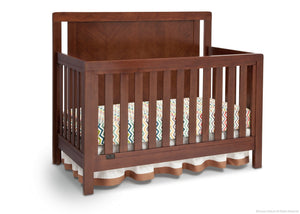 Simmons Kids Espresso Truffle (208) Chevron Crib 'N' More, Crib Conversion b2b