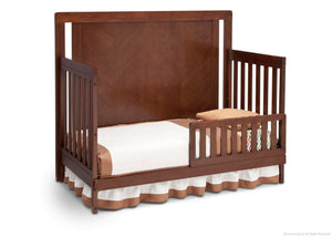 Simmons Kids Espresso Truffle (208) Chevron Crib 'N' More, Toddler Bed Conversion b3b