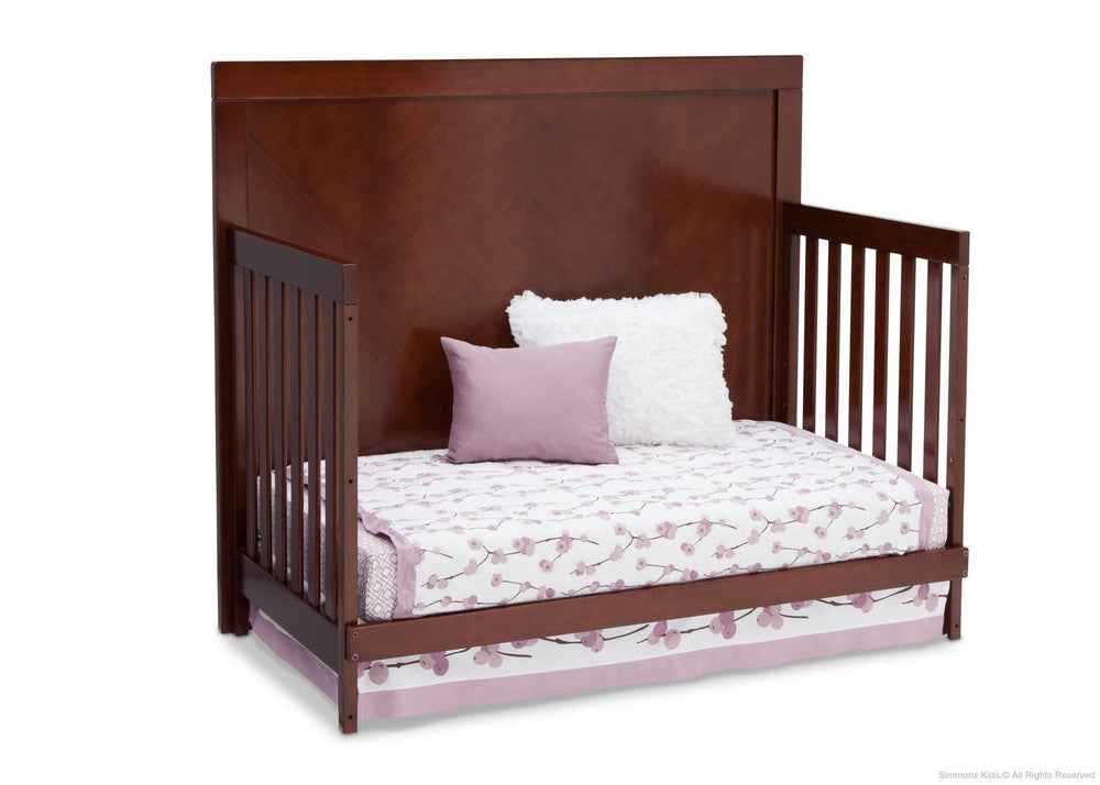 Simmons Kids Espresso Truffle (208) Bellante 4-in-1 Crib, Day Bed Conversion a5a