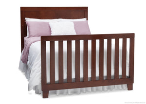 Simmons Kids Espresso Truffle (208) Bellante 4-in-1 Crib, Full-Size Bed Conversion with Footboard a6a