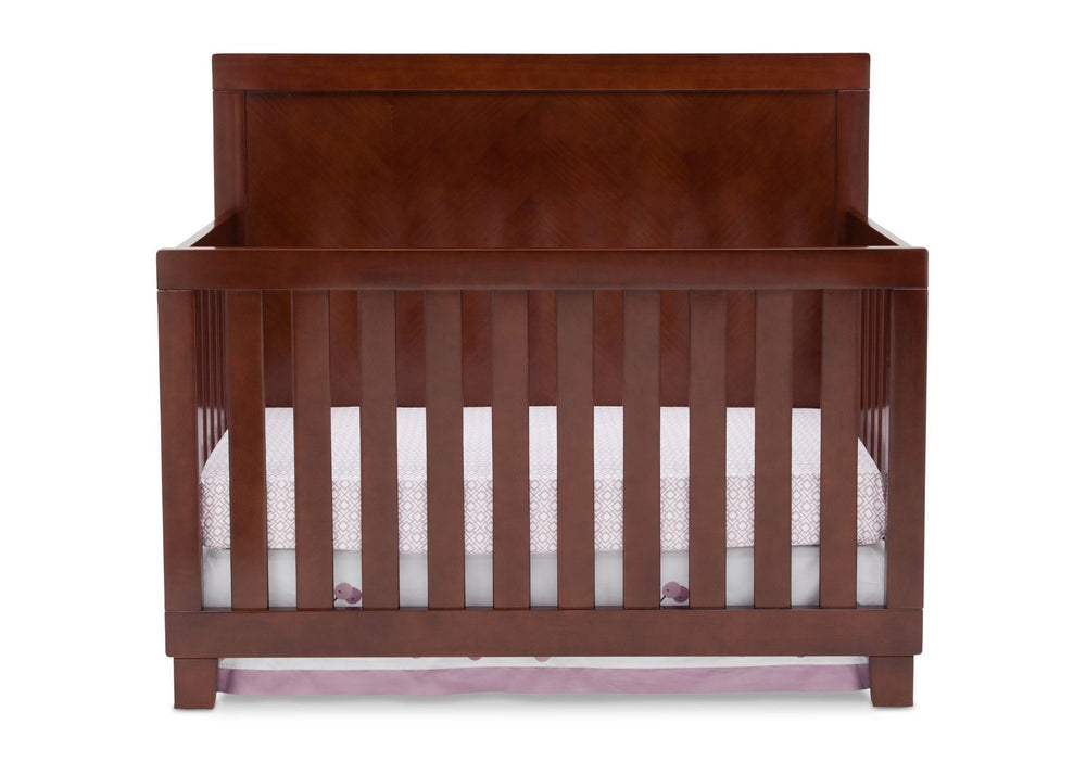 Simmons Kids Espresso Truffle (208) Bellante 4-in-1 Crib, Crib Conversion a2a
