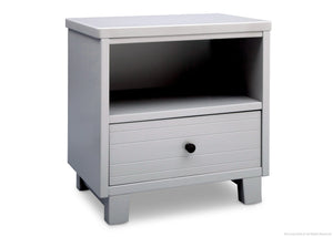 Simmons Kids Grey (026) Rowen Nightstand, Side View a2a
