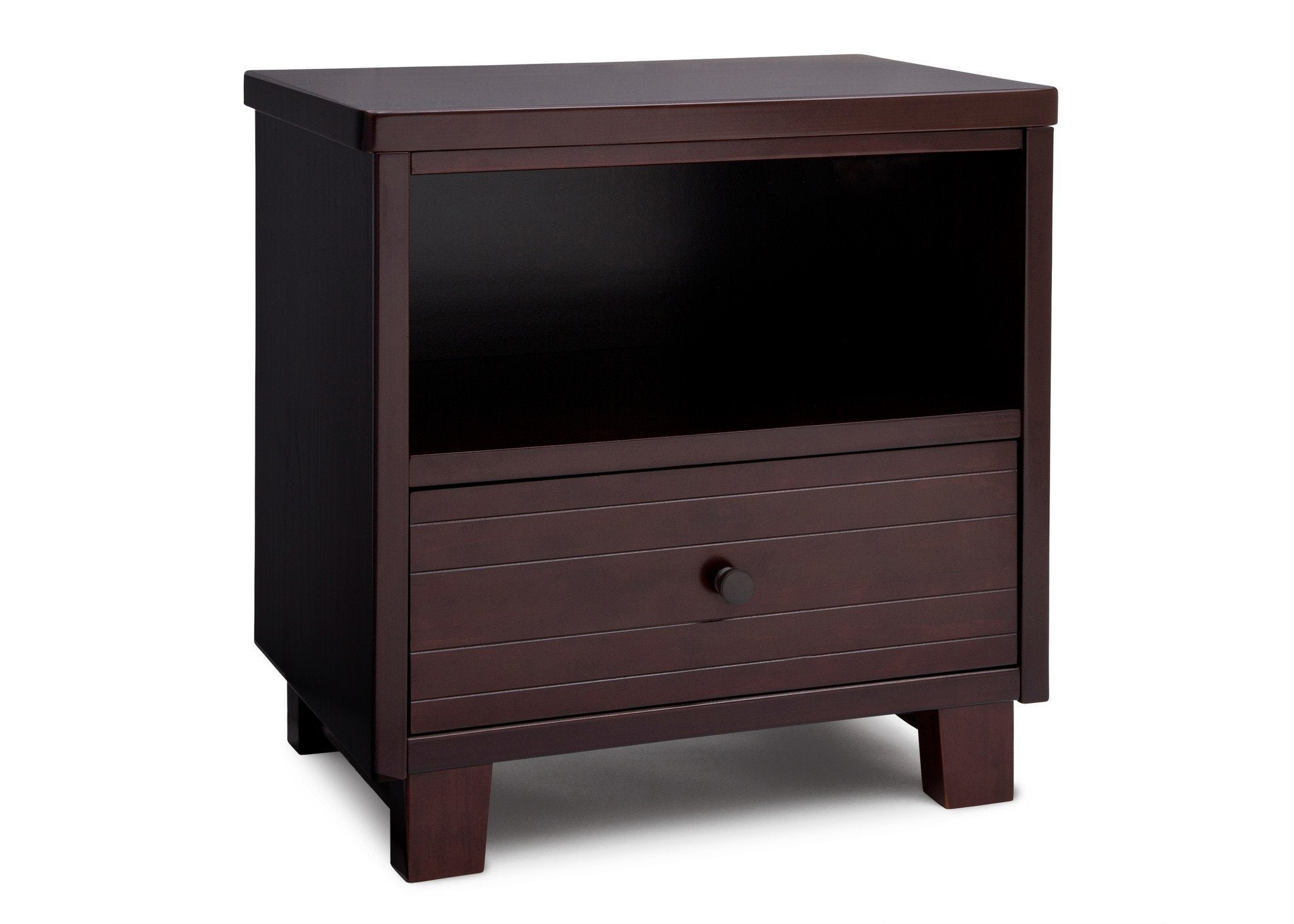 Simmons Kids Black Espresso (907) Rowen Nightstand, Side View b2b