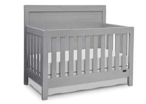 Simmons Kids Grey (026) Rowen Crib (320180),Right View  a1a