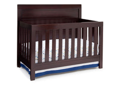 Simmons Kids Black Espresso (907) Simmons Kids Rowen Crib (320180), Side View with Crib Conversion b2b