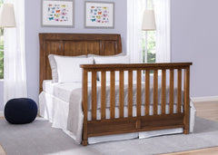 Simmons Kids Antique Chestnut (2100) Kingsley Crib 'N' More, Full Size Room b1b