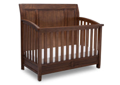 Simmons Kids Antique Chestnut (2100) Kingsley Crib 'N' More, Crib Conversion b3b