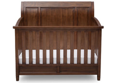 Simmons Kids Antique Chestnut (2100) Kingsley Crib 'N' More, Front View b2b