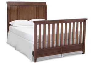 Simmons Kids Antique Chestnut (2100) Kingsley Crib 'N' More, Full-size Bed Conversion b6b