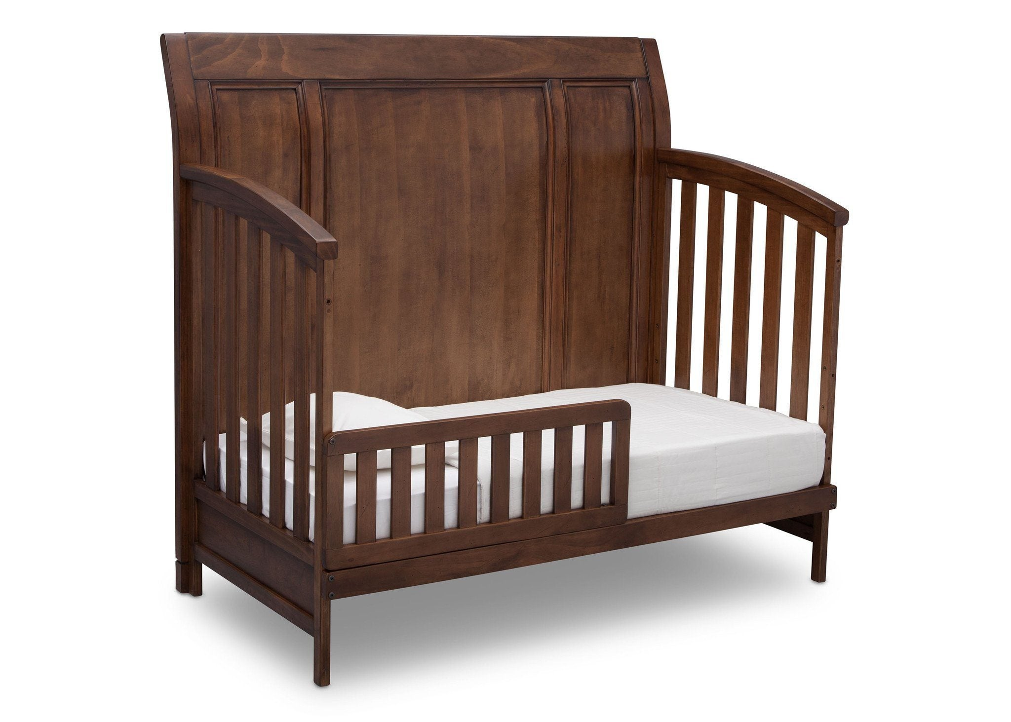 Simmons Kids Antique Chestnut (2100) Kingsley Crib 'N' More, Toddler Bed Conversion b4b