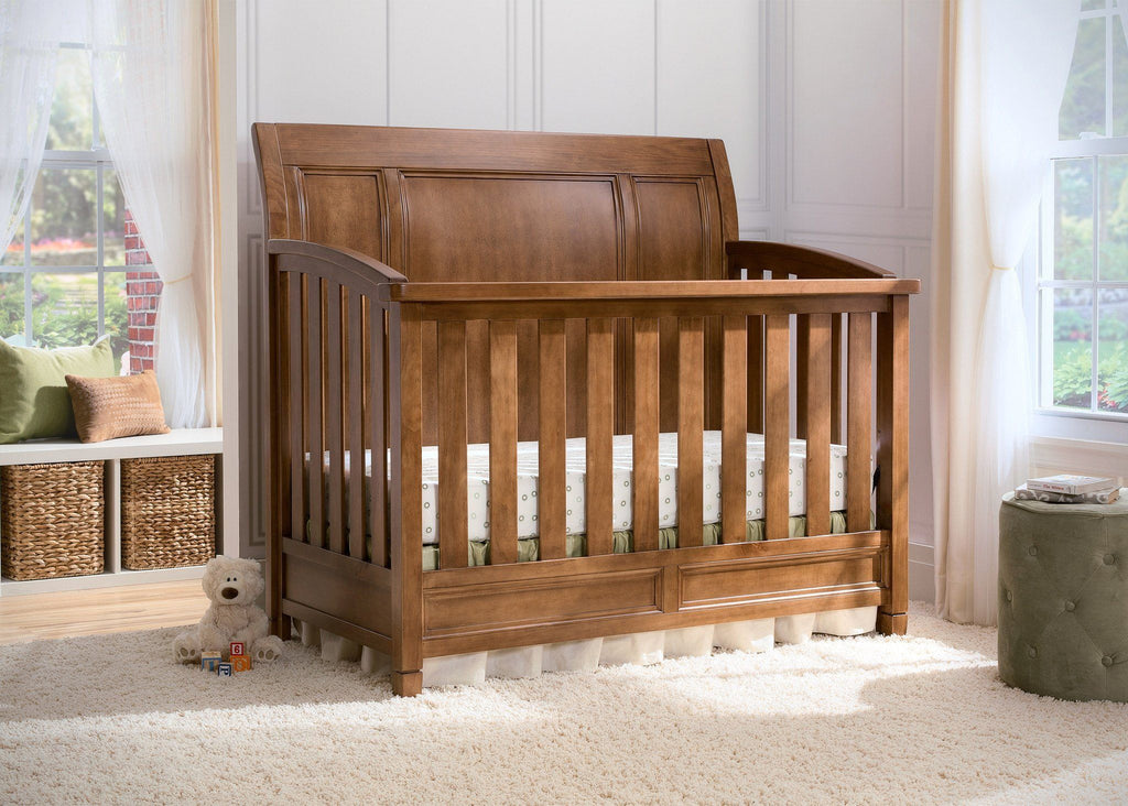 Simmons Kids Weathered Chestnut (223) Kingsley Crib 'N' More, Hangtag,