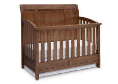 Simmons Kids Weathered Chestnut (223) Kingsley Crib 'N' More, Crib Conversion a3a