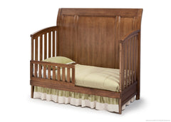 Simmons Kids Weathered Chestnut (223) Kingsley Crib 'N' More, Toddler Bed Conversion a4a