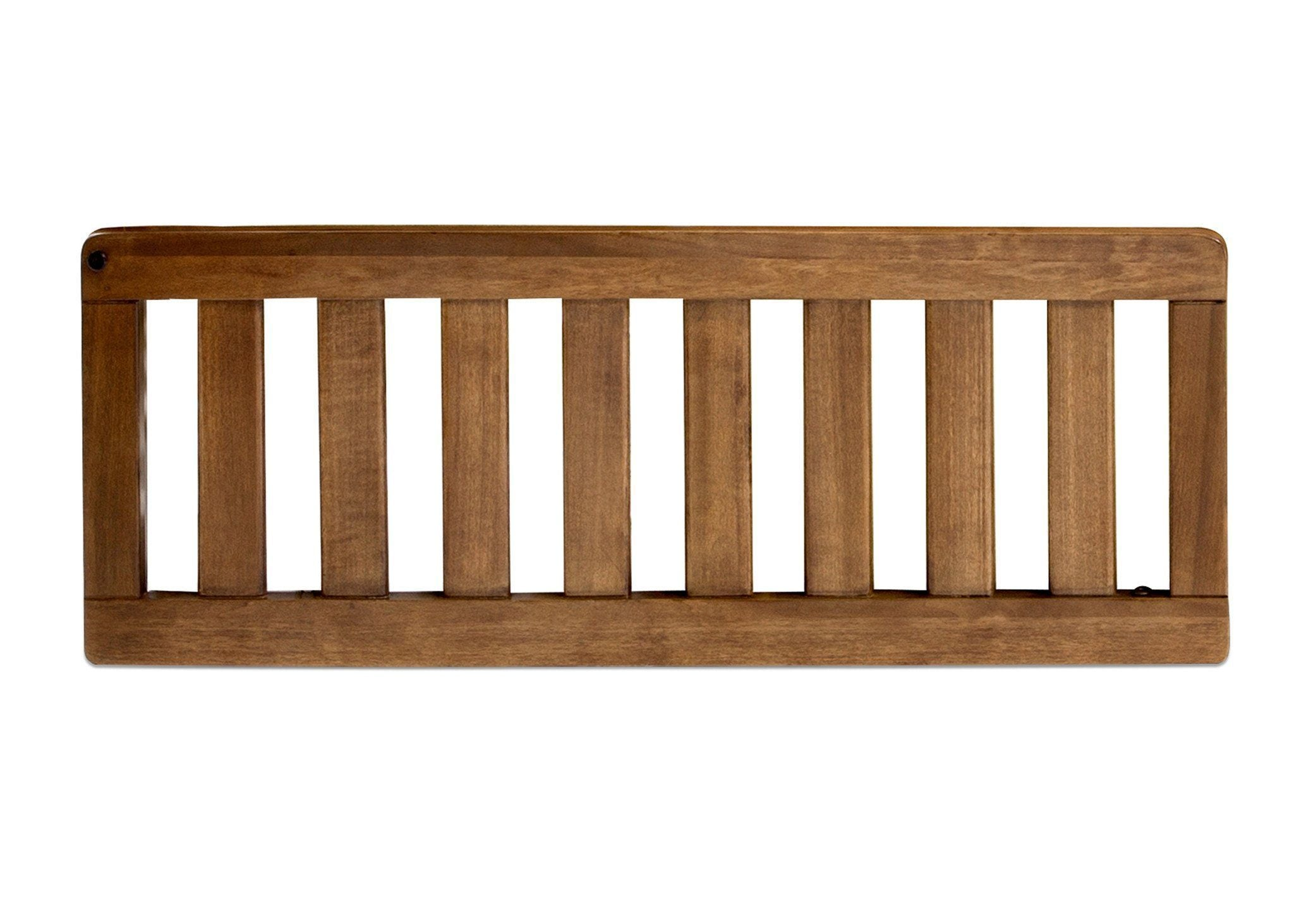 Simmons Kids Weathered Chestnut (223) Toddler Guardrail (324725), Front View a2a
