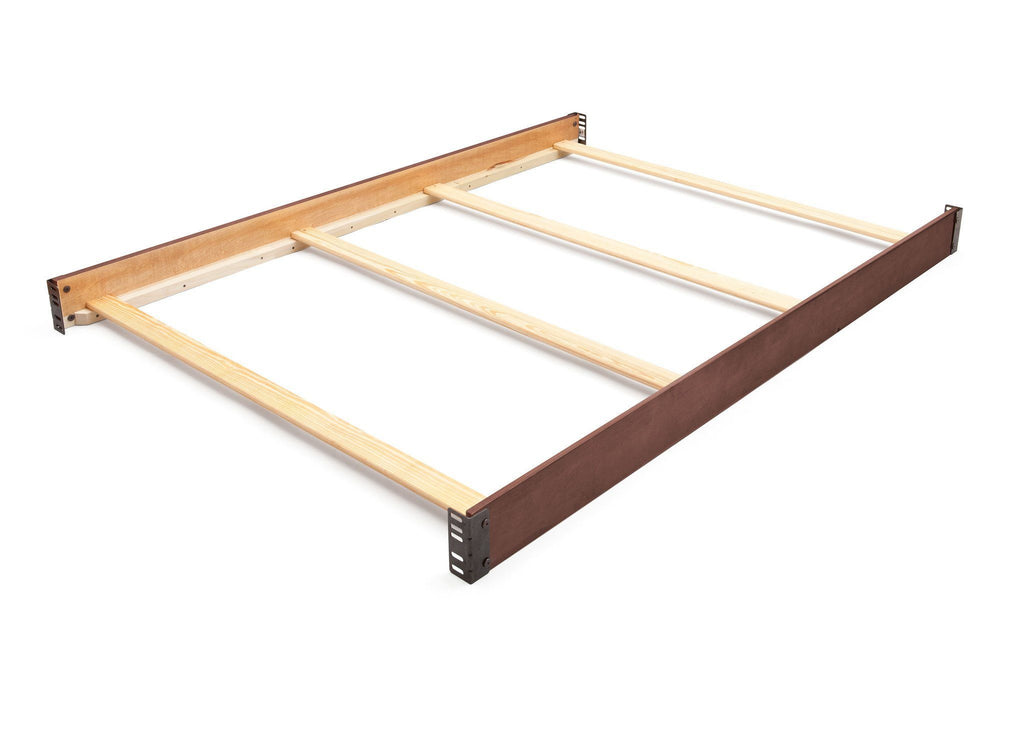 Simmons Kids Antique Chestnut (2100) Kingsley Bed Rails (324750) b1b for Convertible Kingsley Crib 'N' More