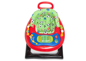 Delta Children Soccer (2061) Lil Goal Keeper 2-in-1 Baby Walker, Top Silo View