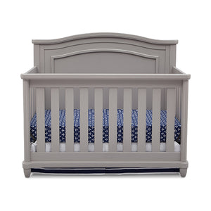 Simmons Kids Grey (026) Belmont 4-in-1 Crib, Crib Conversion a2a