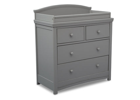Emma 4 Drawer Dresser with Changing Top