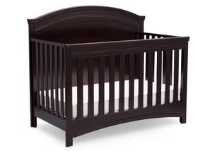 Simmons Kids Black Espresso (907) Emma Crib 'N' More Right Facing View b3b